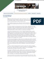 O Processo de Peneiração- Por David Wilkerson