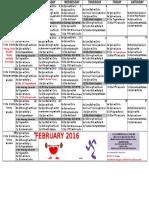 Oxf Feb Classes