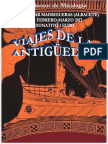 Cuadernos de Mitología Nº 31 . Viajes de La Antigüedad