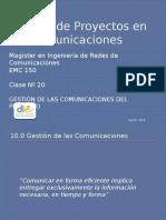 Clase Nº 20 Comunicaciones y Adquisiciones