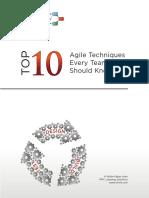 Top 10 Agile Techniques v14