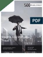 Mortgage Fraud Presentation