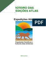 Roteiro Das Expedições Científicas e Culturais  Atlas Ambiental de São José dos Campos