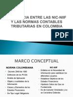 Diferencia Entre Las Nic Niif y Las Norm