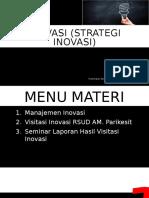 Inovasi (Strategi Inovasi)