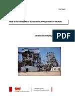 StudyOnTheSustainabilityOfBio-massBasedPowerGenerationInKarnataka