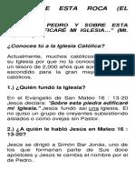 Tema 8 - Sobre Esta Roca - El Papado - PDF