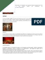 Teatro y su división