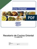 Oriental Recetario