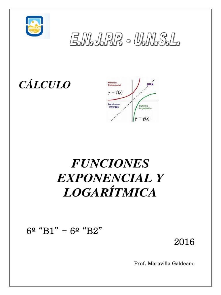 FUNCIONES EXPONENCIAL Y LOGARÍTMICA.pdf