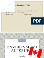 canada environmental issues ppt 2