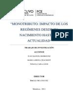 Monotributo II