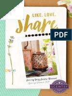 Scentsy Spring/Summer 2017 Catalog