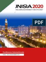 Brochure de Présentation de La Conférence Tunisia 2020