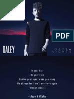 Digital Booklet - Days & Nights