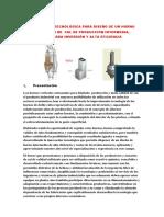 Horno ILiTeC de Alta Eficiencia Para Producción de Cal Viva