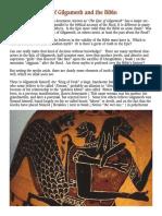 Epic of Gilgamesh & the Bible - David Allen Deal