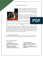 Biografía de Miguel Ángel Cornejo