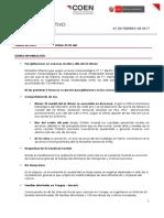 Boletín Informativo COEN (9-02-17)
