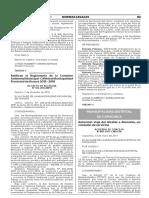 Ratifican el Reglamento de la Comisión Ambiental Municipal - CAM de la Municipalidad Provincial de Huaura 2015 - 2018