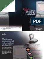 Brosur Cardimax Fukuda Advance Electrocardiograph FX-7542