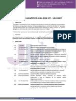 Informe de Diagnóstico Linea Base Sst - Udch 2017 - Pm