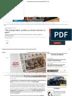 The Independent Publica Su Última Edición en Papel
