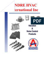 Anti-Vibration Catalogue of Isolation Pads, Springs & Systems by Andre HVAC Int. Inc.