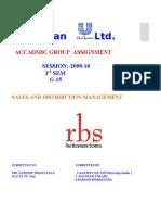 Hindustan Unilever Ltd A brief  research