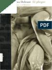 DELEUZE, Gilles (1988) - El pliegue. Leibniz y el Barroco (Paidós, Barcelona-Buenos Aires-México, 1989-1998).pdf