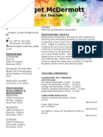 b mcdermott resume