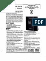 Ficha técnica control de alarmas y dispositivos de emergencia