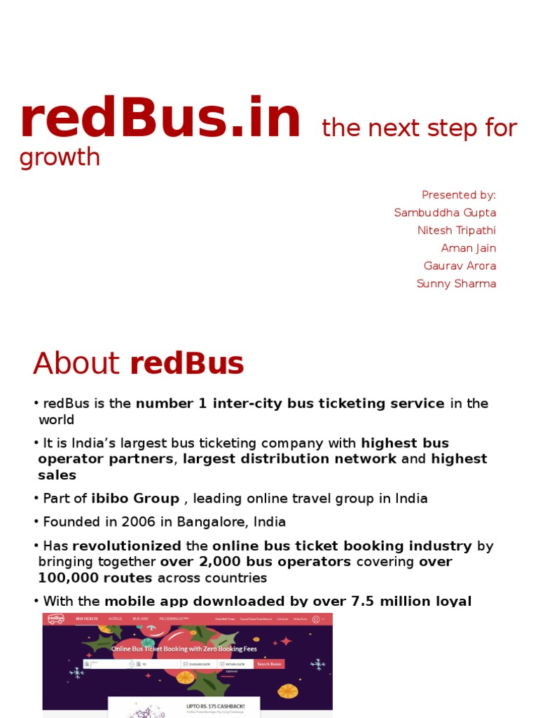 redBus | Bus | Scalability