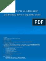 PPT ADECUACIONES SIGNIFICATIVAS