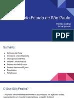 As Praias do Estado de São Paulo
