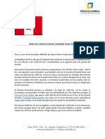 Perfil Logistico de Peru