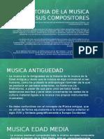 La Historia de La Musica y Sus Compositores