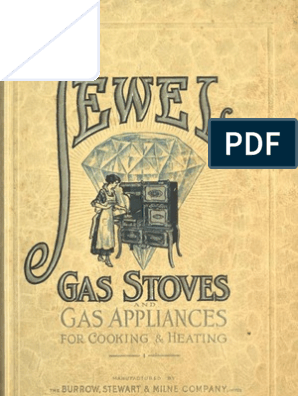 1916) Jewel Gas Stoves & Gas Appliances for Cooking