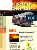 5 Fire Safety Principles