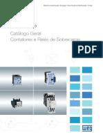 WEG Contatores e Reles de Sobrecarga Catalogo Geral 50026112 Catalogo Portugues Br