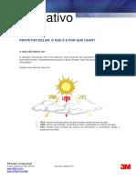 Boletim Informativo Protetor Solar