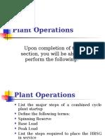 16 Plant Operations