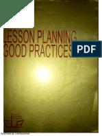 Leson Planning Good Practicies
