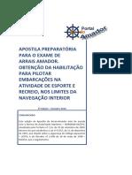 Apostila Preparatória Para o Exame de Arrais Amador
