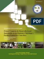 Memorias 1er Congreso de Desarrollo Local Sustentable Nicoya 2010