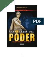 Las 48 Leyes Del Poder (RESUMEN)- Rebert Greene