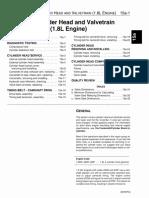 Bloque de Cilindros y Tren de Valvulas motort 1.8 turbo (ingles)