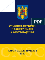 Raport2010 RO