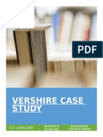 Abhilash Gs (03) Vershire Case Study