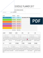 event schedule planner 2017 docx